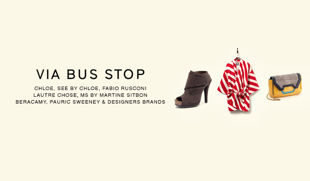 VIA BUS STOP WOMEN BAG&SHOES&HOMEのセールをチェック