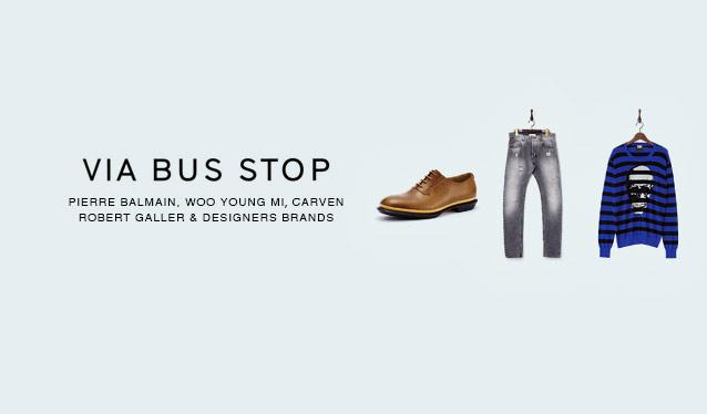 VIA BUS STOP MENのセールをチェック