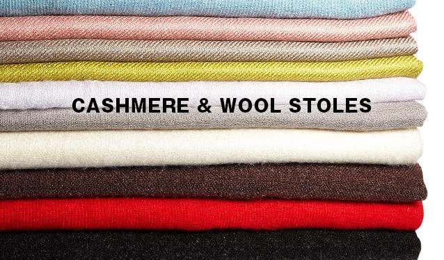 CASHMERE & WOOL STOLESのセールをチェック
