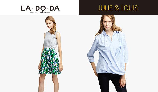 LA DO DA/JULIE&LOUISのセールをチェック