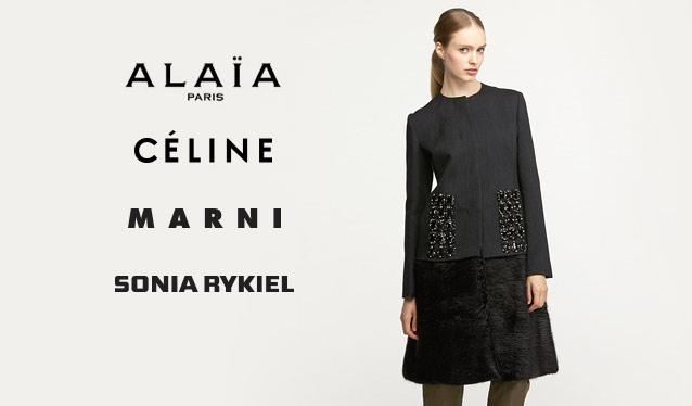CELINE/MARNI/SONIA RYKIEL/AZZEDINE ALAIAのセールをチェック